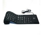 Водонепроницаемая клавиатура PC USB силиконовая гибкая 109 кнопок