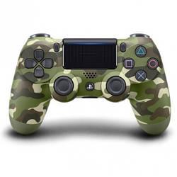 Беспроводной геймпад PlayStation Dualshock 4 Bluetooth PS4 Green Camouflage (19148)
