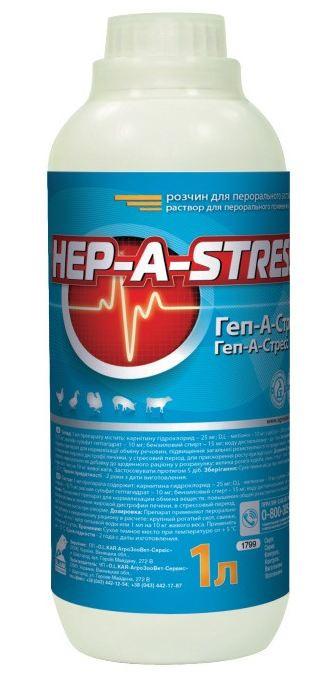 Геп-а-стрес, 1л
