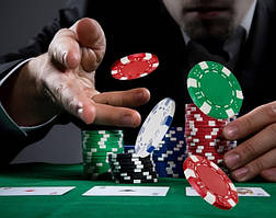Набор Duke для игры в покер в оловянном кейсе (3896)