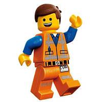 Наклейка на шар Lego