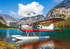 Пазли Castorland 500 ел. арт. В-53025 Літак на гірському озері (47х33см) 22-32-4,5 см