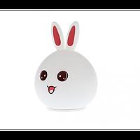 Силиконовый ночник 3DTOYSLAMP Кролик с ушками, подсветка 7 цветов (51282)