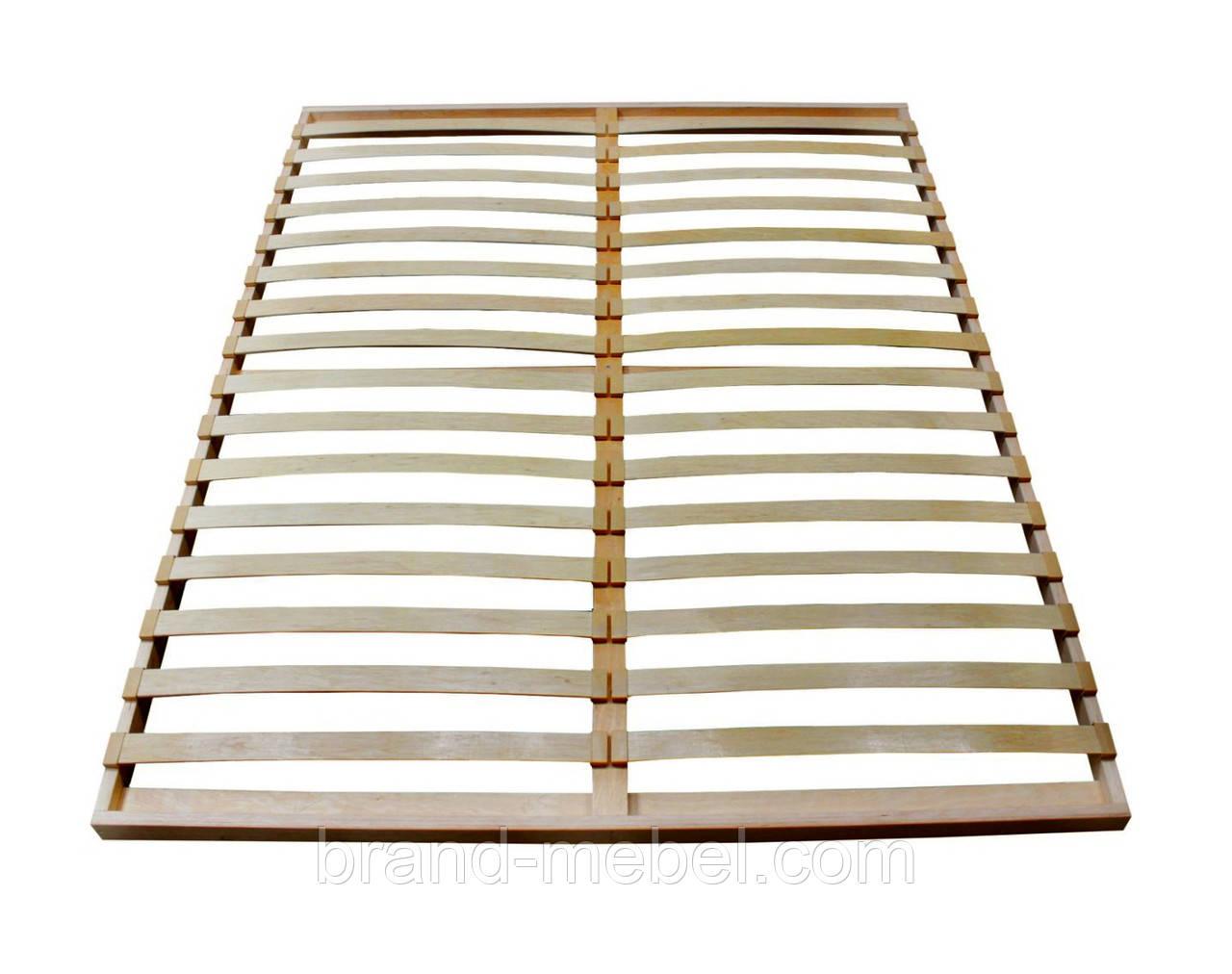 Каркас ліжка дерев'яний розбірний 190*160см
