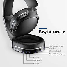 Навушники безпровідні (гарнітура) Baseus Encok D02 Black, фото 3