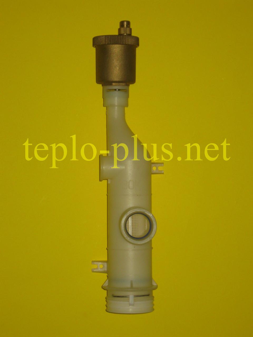 Фильтр водяной (воздухоотводчик под скобу) в сборе Daewoo Gasboiler DGB-100, 130, 160, 200 KFC