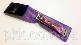 Книпсер для ногтей MЕRTZ с цветной ручкой и пилкой 8.5 см