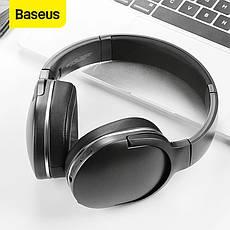 Навушники безпровідні (гарнітура) Baseus Encok D02 White, фото 3