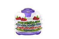 Сушка для овощей и фруктов Saturn ST-FP0112фиолет-прозр
