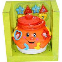 """Обучающая игрушка """"Поющий горшочек"""" (оранжевый) 0915"""