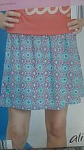Стильна легка спідниця для дівчинки з віскози від Alive, Німеччина, розмір 152 см