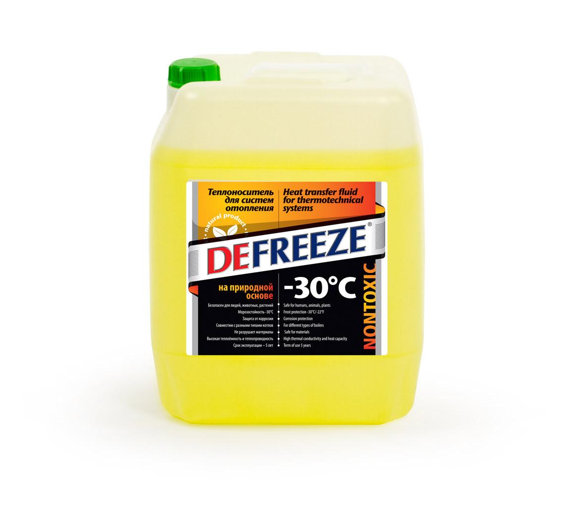 Defreeze -30 природный теплоноситель(антифриз)