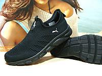 Мужские кроссовки Puma R (реплика)черные 41 р.