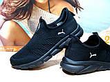 Мужские кроссовки Puma R (реплика) черные 42 р., фото 5