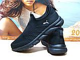 Мужские кроссовки Puma R (реплика) черные 42 р., фото 7