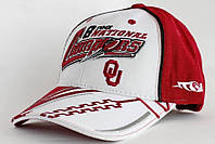 Бейсболка с логотипом Oklahoma NewEra. Фирменная Красно-белая кепка Оклахома.