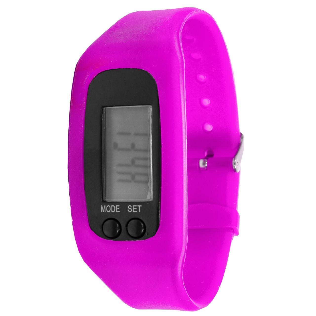 Фитнес браслет Lesko LED SKL Pink (2827-8599a)