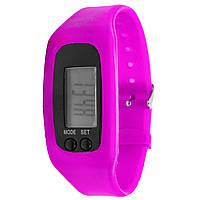 Фитнес браслет Lesko LED SKL Pink (2827-8599a), фото 1