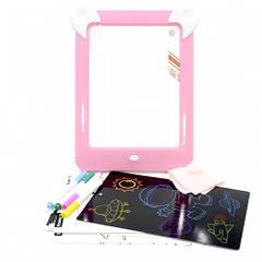 Дитяча магічна 3D дошка для малювання Magic Board Drawing Pad Pink (3699-11715a)