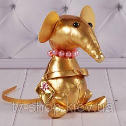 """Мягкая игрушка крыса """"Миссис Кристи"""", 25 см."""