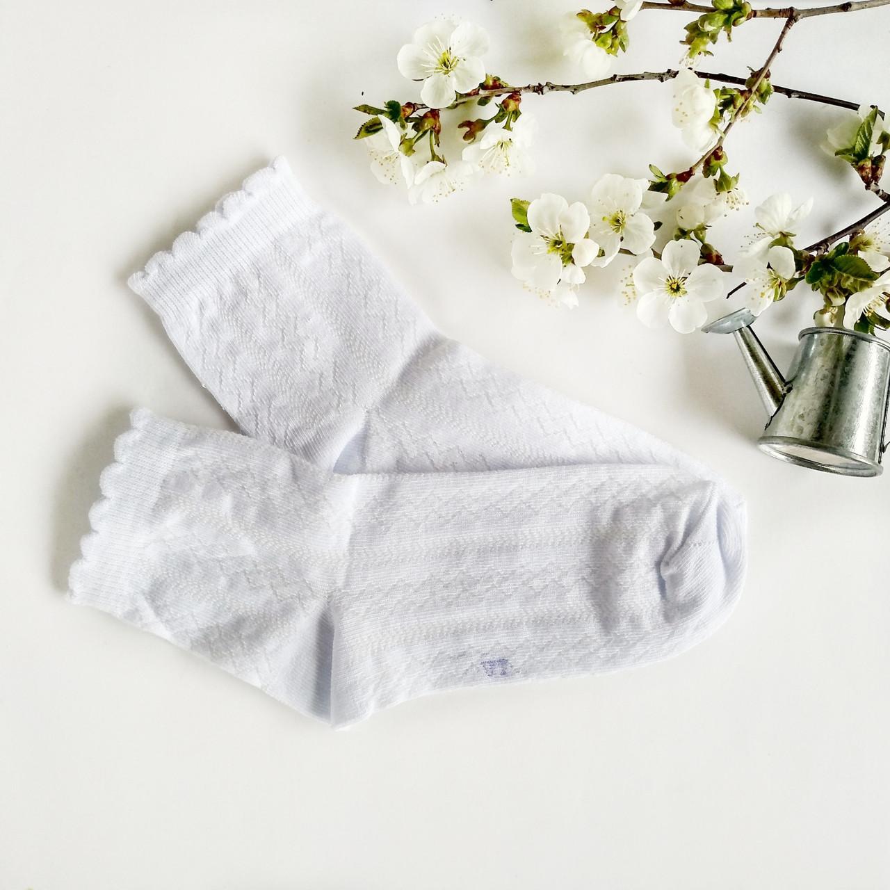 Детские ажурные носки V&T socks для девочек