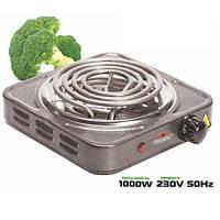 Плита электрическая переносная 1000Вт ø140мм, ME-0012G (12шт)