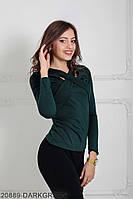 Жіноча кофта Подіум Bellissima 20889-DARKGREEN XS Зелений
