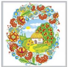 Салфетка ТМ La Fleur 33*33, 2 шари, 20 шт Батьківська хата  (4820164963838)