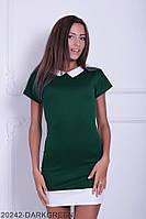 Жіноче плаття Подіум Dixon 20242-DARKGREEN XS Зелений