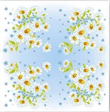 Салфетка ТМ La Fleur 33*33, 2 шари, 20 шт Чарівна ромашка  (4820164965405)