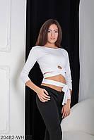 Жіноча кофта Подіум Killena 20482-WHITE S Білий