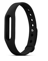 Xiaomi Ремешок для Фитнес-трекера Mi Band (Mi Fit) Чёрный ORIGINAL