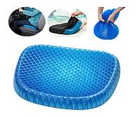 Гелева ортопедична подушка для сидіння Egg Sitter + чохол (92989)
