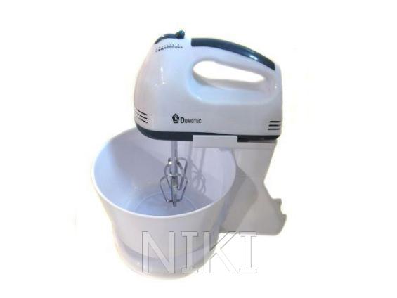 Миксер ручной с чашей Domotec MS-1366 200W
