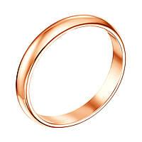Обручальное кольцо из красного золота 000103665 000103665 15.5 размер