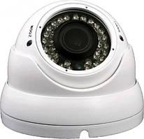 Антивандальная AHD камера DigiGuard DG-M2424AHD White