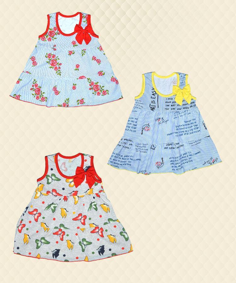 Платье детское ТИНА кулир