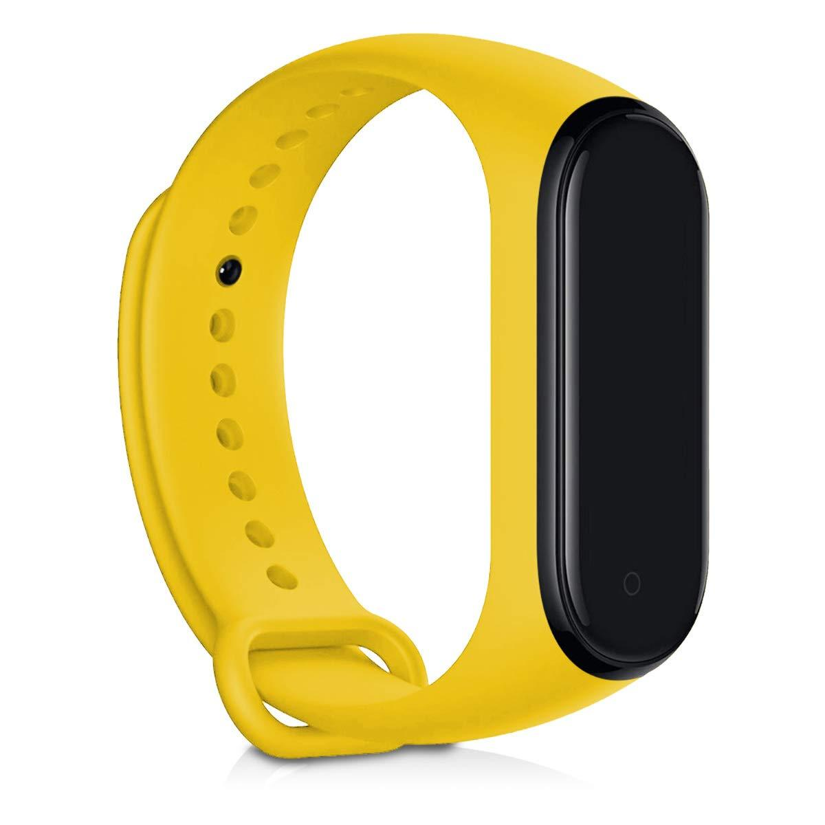 Ремешок силиконовый BeWatch  для  Xiaomi Mi Band 3 \ 4 Желтый(1040620)