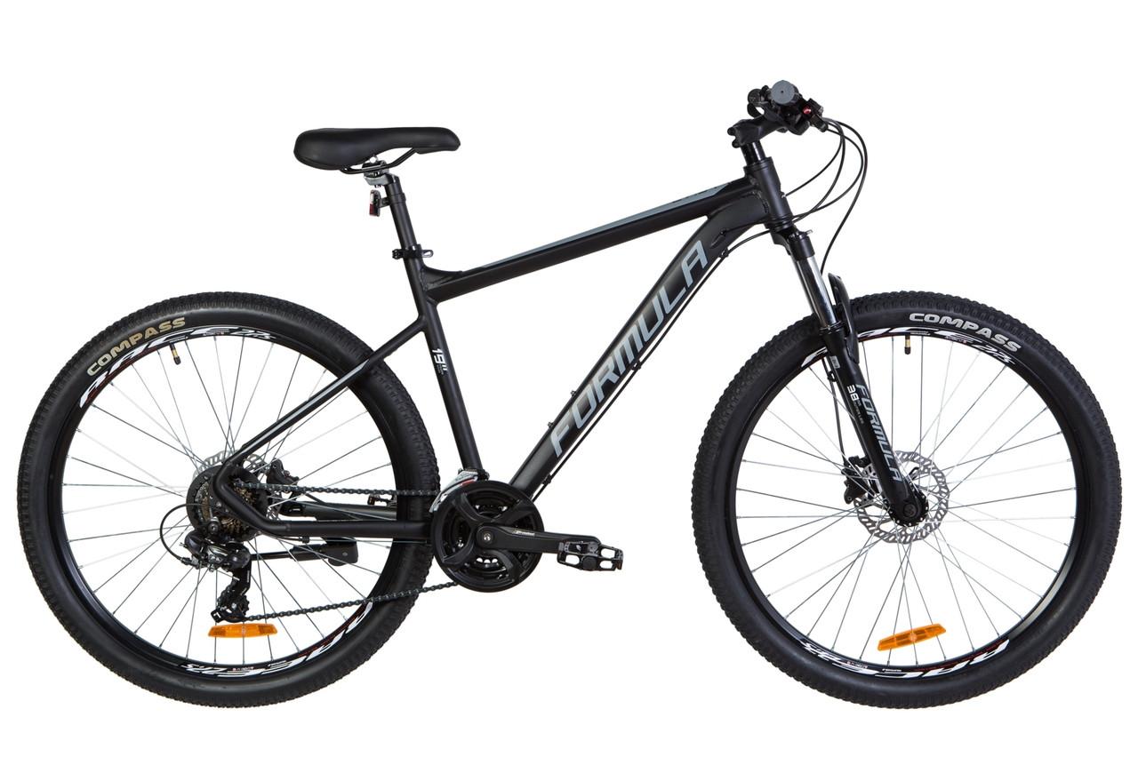 """Горный велосипед 27.5"""" Formula F-1 HDD 2020 (черно-белый (м))"""