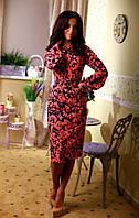 Платье силуэтное