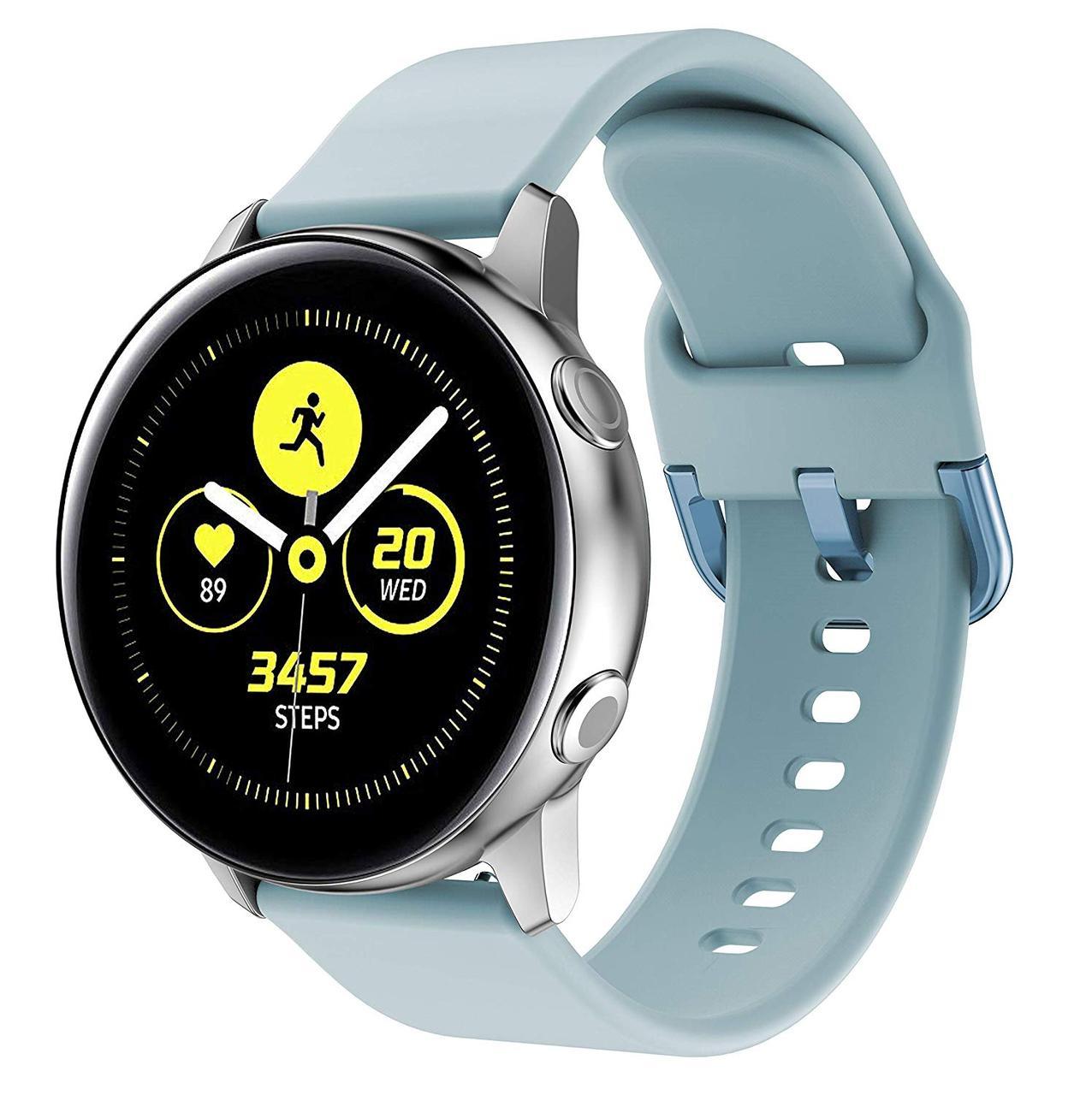Ремешок силиконовый NewColor 20мм для Samsung Galaxy Watch 42мм   Active   Active 2  Мята (1012397)