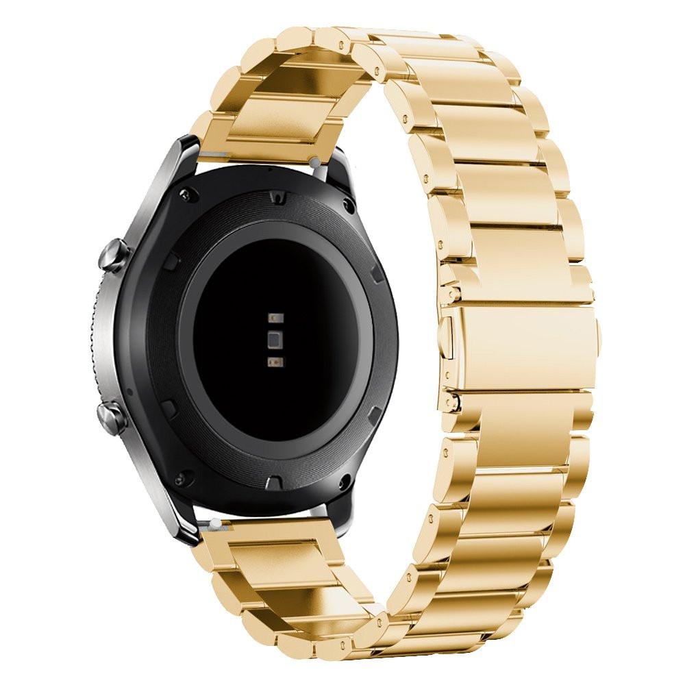 Стальной ремешок 22mm BeWatch в комплектации XTRA для Samsung Galaxy Watch 46 мм Золотистый (1020428)