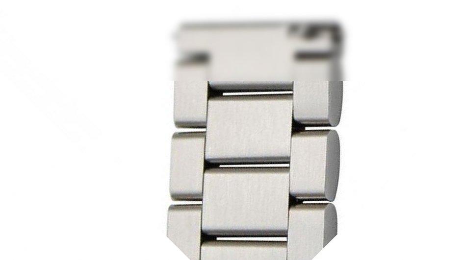 Удлиняющий линк (звено) браслета для стальных ремешков BeWatch Серебристый (1017211)