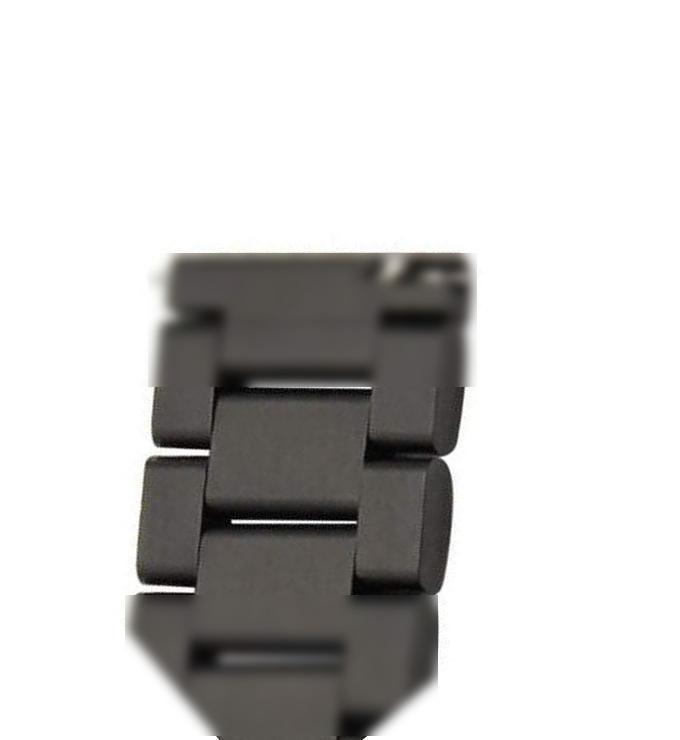 Удлиняющий линк (звено) браслета для стальных ремешков BeWatch Черный(1017201)