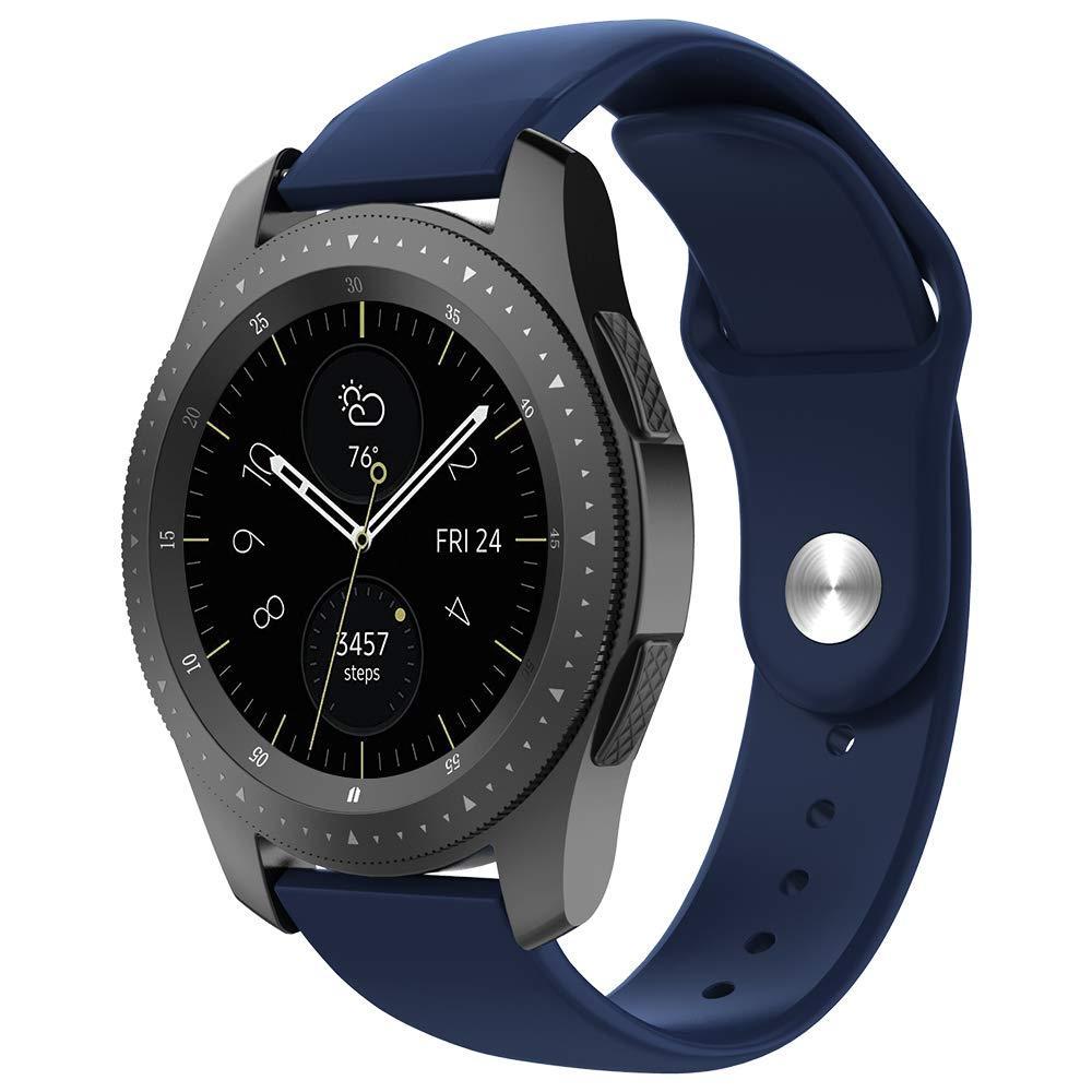 Ремешок BeWatch силиконовый для Samsung Galaxy Watch 46 мм Синий (1020305)