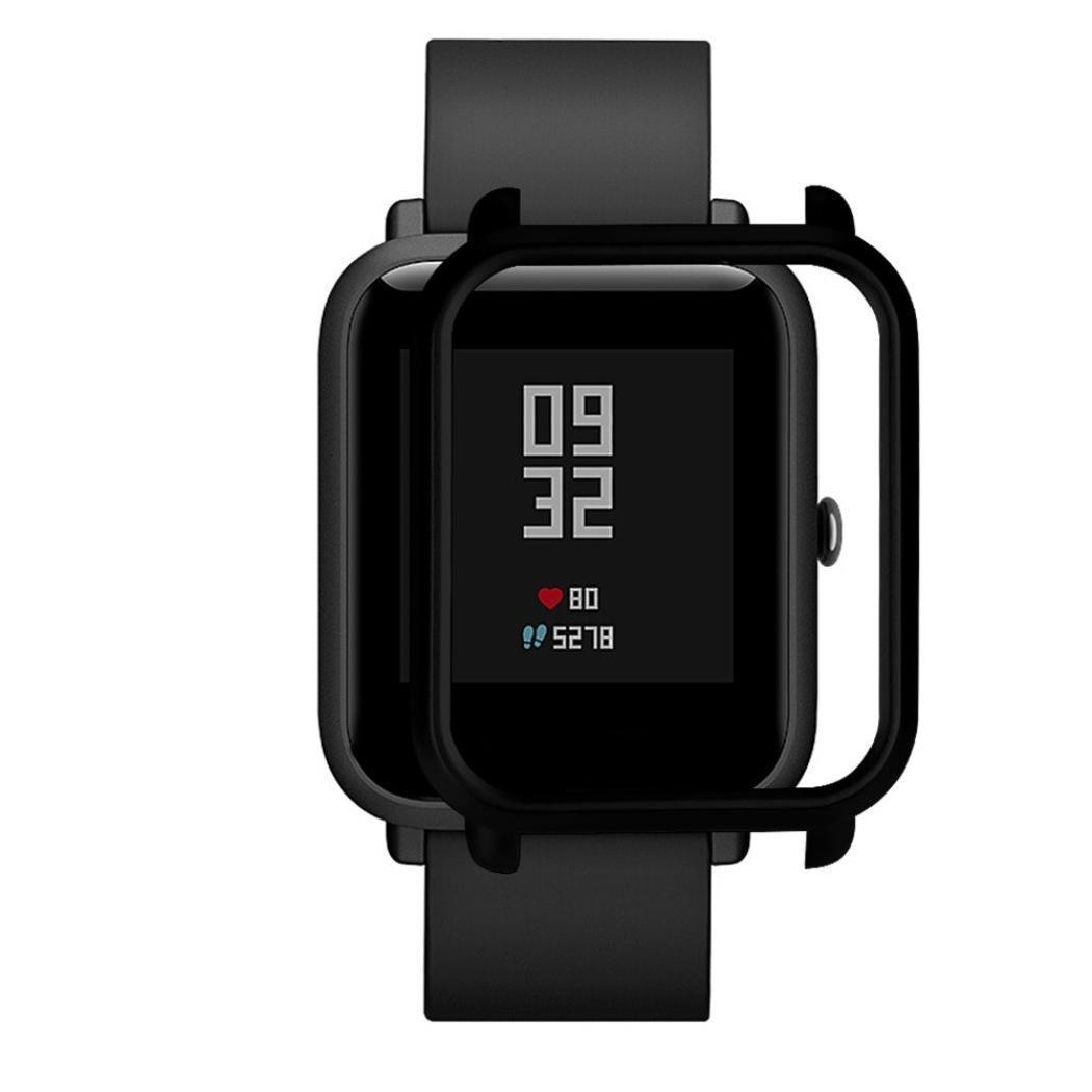 Накладка бампер для часов Xiaomi Amazfit Bip Черная (1010501)