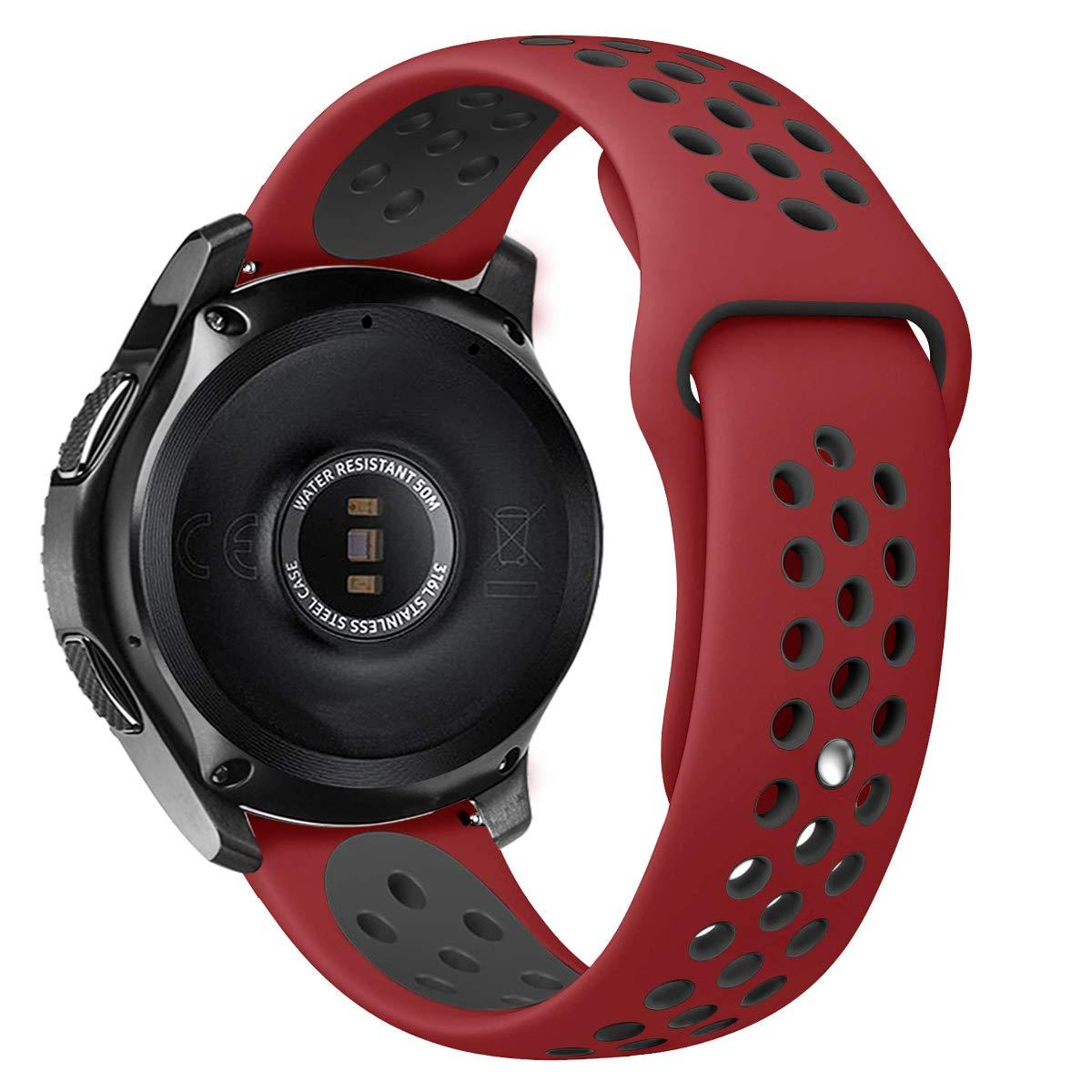 Ремешок BeWatch sport-style для Samsung Gear 3  Red-Black (1020131)