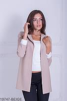 Жіночий піджак Подіум Danielle 19747-BEIGE S Бежевий