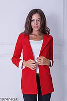 Жіночий піджак Подіум Danielle 19747-RED XXL Червоний