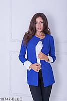 Жіночий піджак Подіум Danielle 19747-BLUE XXL Синій
